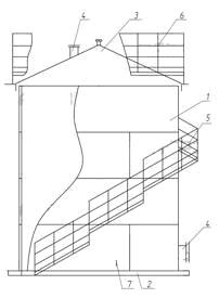 Вертикальный стальной резервуар РВС