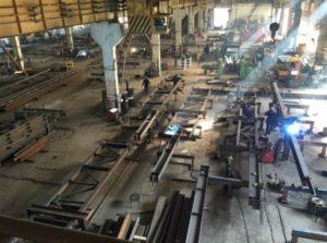 Цех изготовление стальных колонн Волгоград